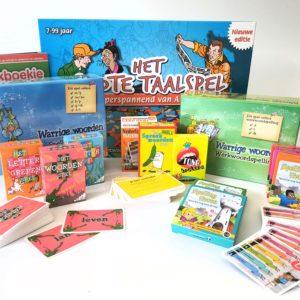 taalklas box taal in het lokaal