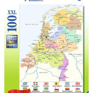landkaart van nederland puzzle