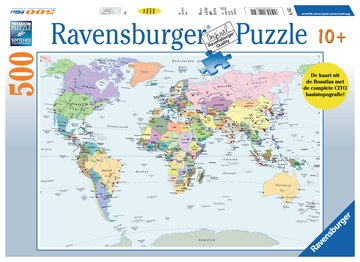 wereldkaart puzzle