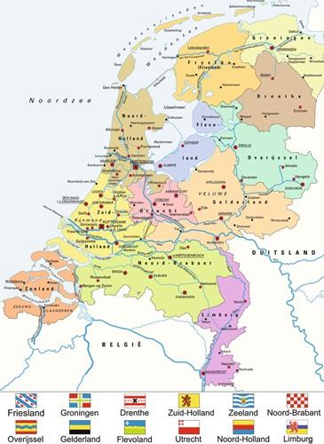 landkaart van nederland puzzel