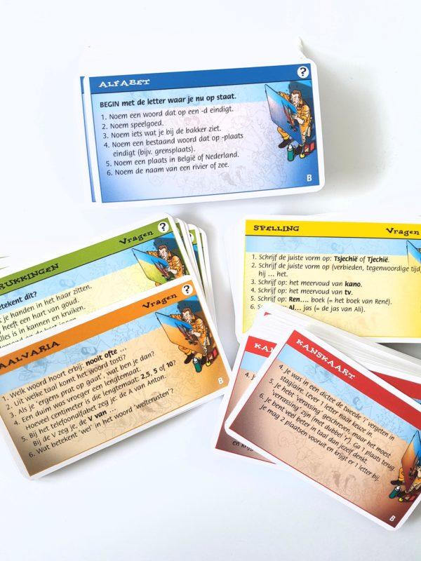 het grote taalspel kaartjes