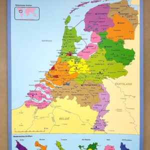 kaart Nederland-set