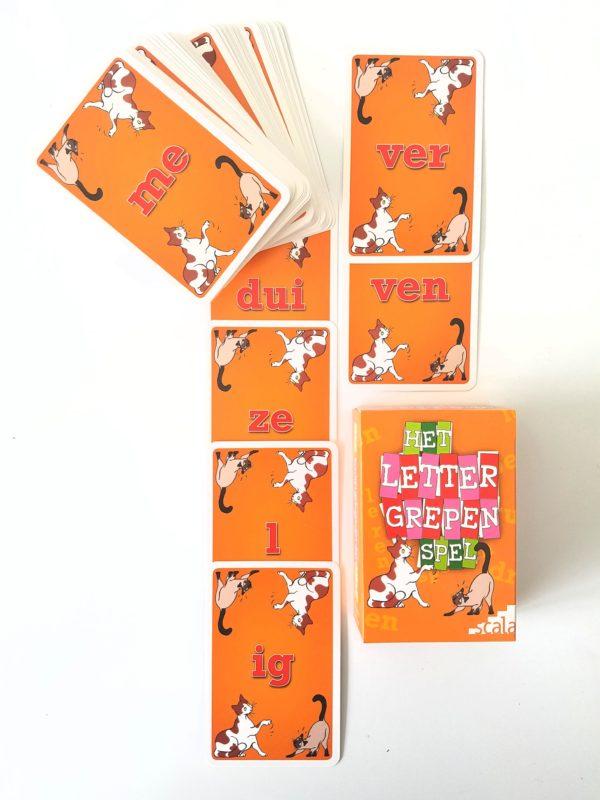 lettergrepenspel kaartjes