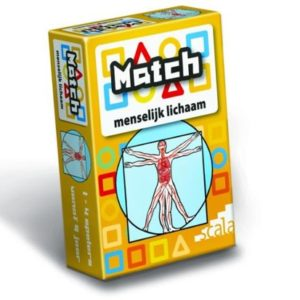 Match menselijk lichaam