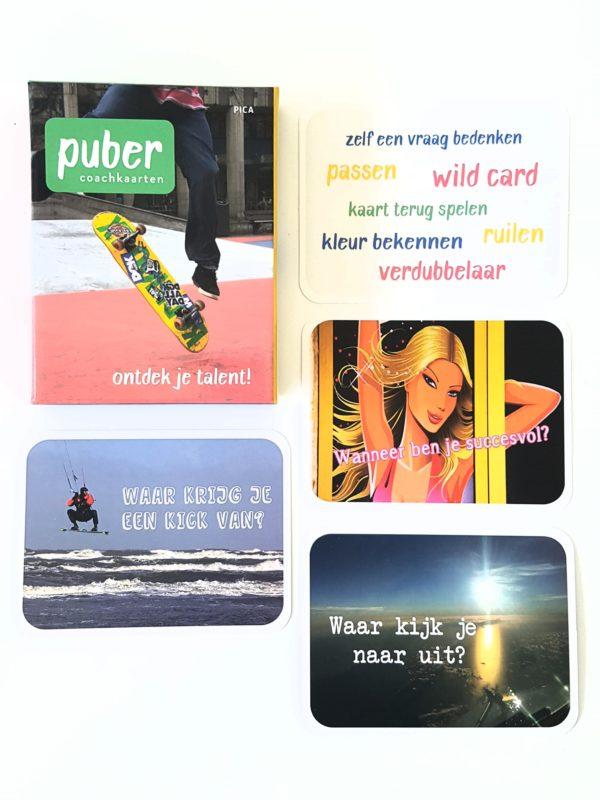pubercoach-kaarten kaartjes