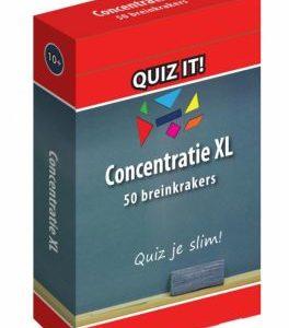 quiz it concentratie XL hersentraining