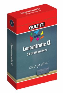 quiz it concentratie XL hersentraining