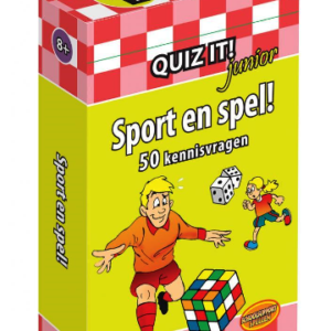 quiz it junior sport en spel