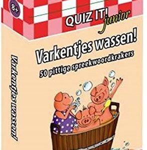 quiz it varkentjes wassen