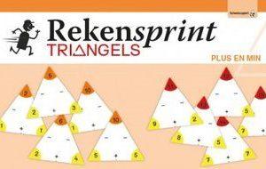 Rekensprint Triangels Plus en Min