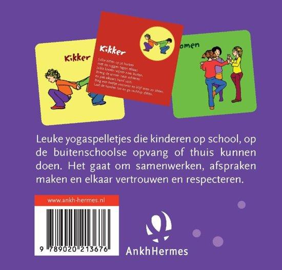 Yogaspelkaarten voor kinderen! Helen Purperhart