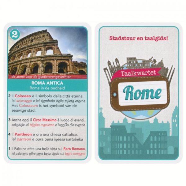 Taalkwartet Italiaans Citytrip Rome