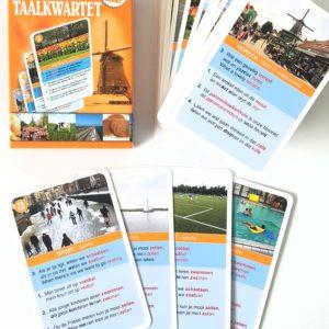 Nederlands taalkwartet kaartjes