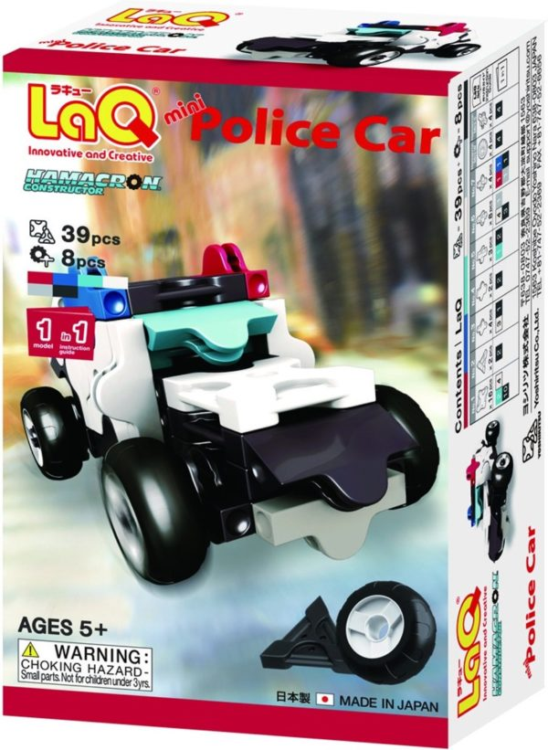 LaQ Hamacron Constructor Mini Police Car