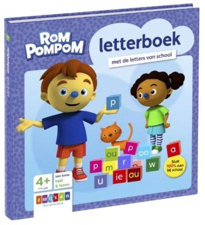 Blijfwijs Rompompom letterboek zwijsen
