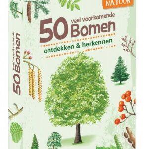 50 veel voorkomende bomen ontdekken en herkennen