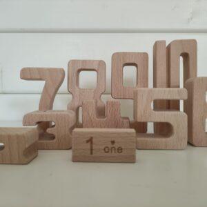 blijfwijs-houten cijfers blokken